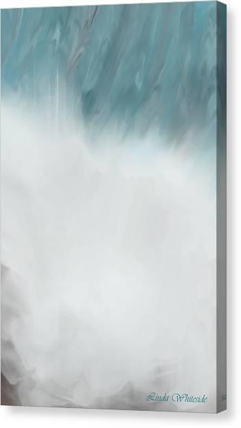 Digital Falls Canvas Print
