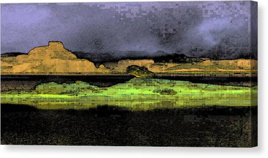 Digital Powell Canvas Print
