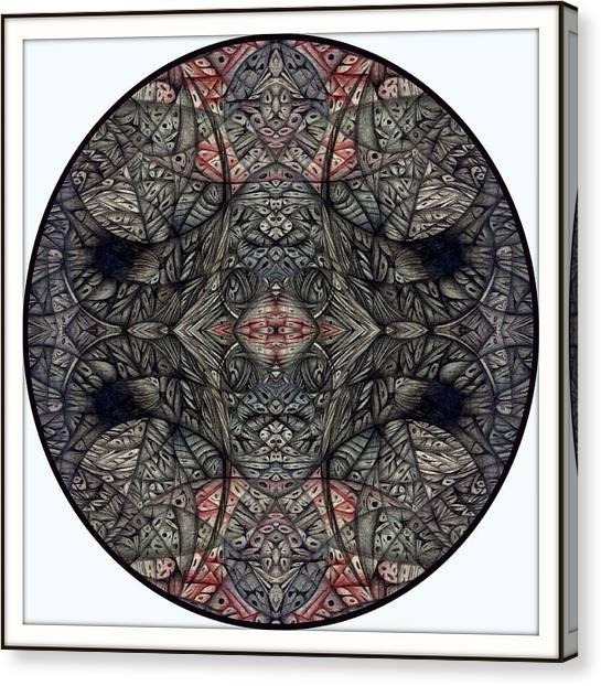 Digitized Ballpoint September Seventeenth Canvas Print