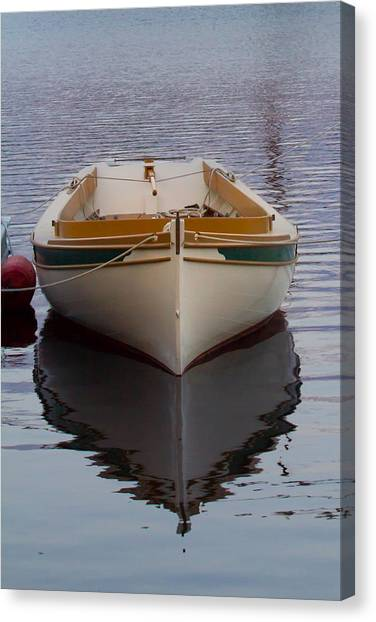 Dinghy Reflection  Canvas Print