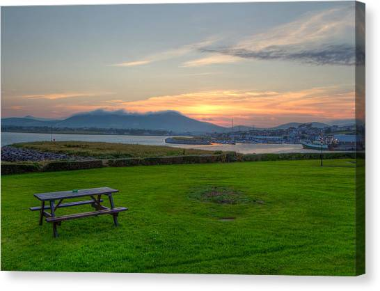 Dingle Harbor Sunset Canvas Print