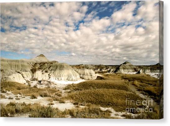 Dinosaur Badlands Canvas Print