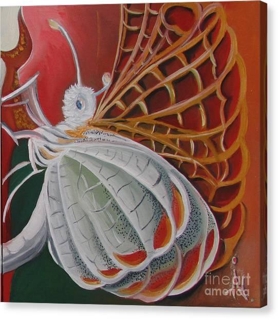 Diptych-panel2 Canvas Print