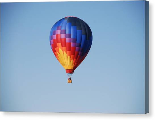 Disco Balloon  Canvas Print by Miguelito B