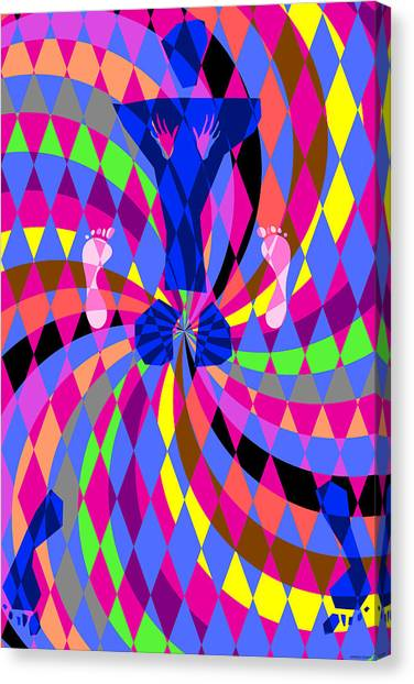 Disco Luvin Canvas Print