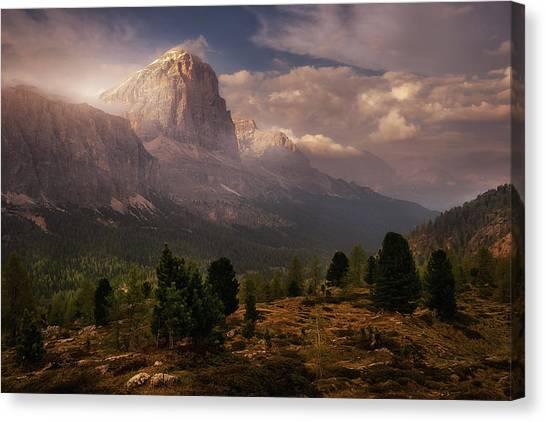 Dolomites Canvas Print - Discovering Dolomiti by Iv?n Ferrero