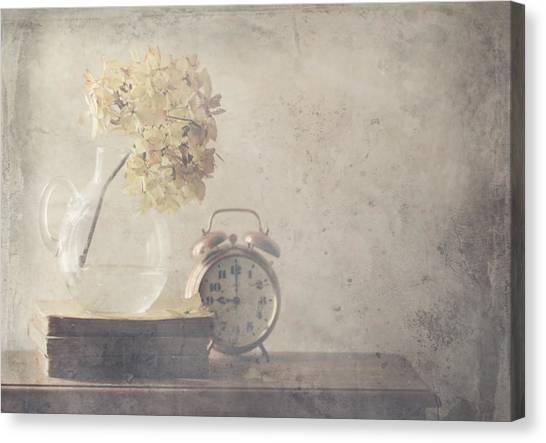 Disillusionment Of Nine Oa??clock Canvas Print by Delphine Devos
