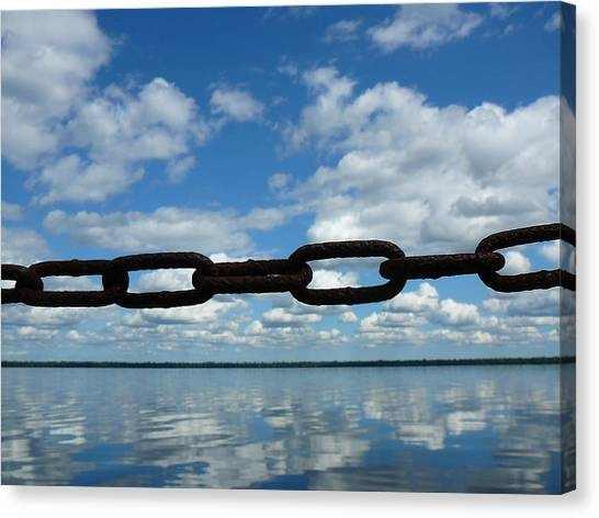 Great Dismal Canvas Print - Dismal Swamp Chain by Two Bridges North