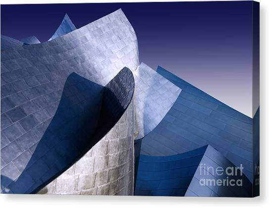 Disney Hall La Canvas Print