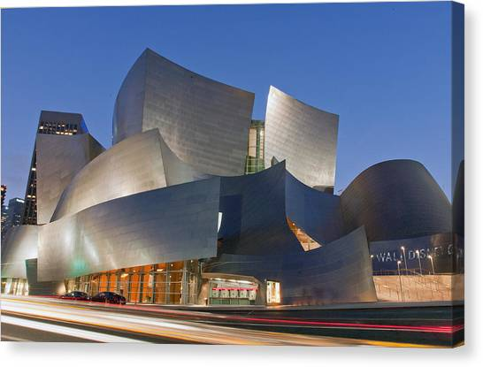 Disney Hall Canvas Print