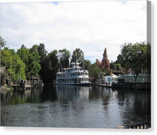 Disneyland Park Anaheim - 121212 Canvas Print