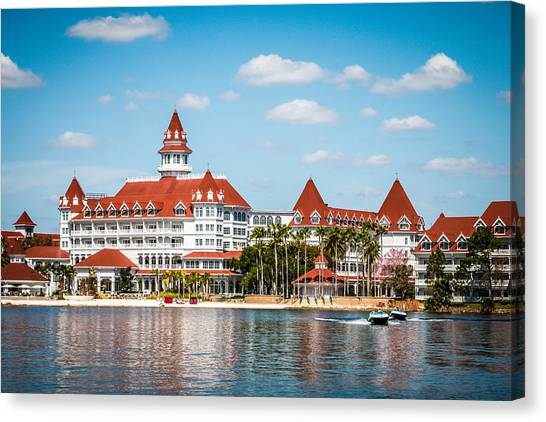 Disney's Grand Floridian Resort And Spa Canvas Print