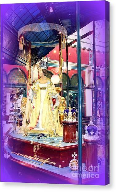 Display In Sydney Mall Canvas Print by John Potts