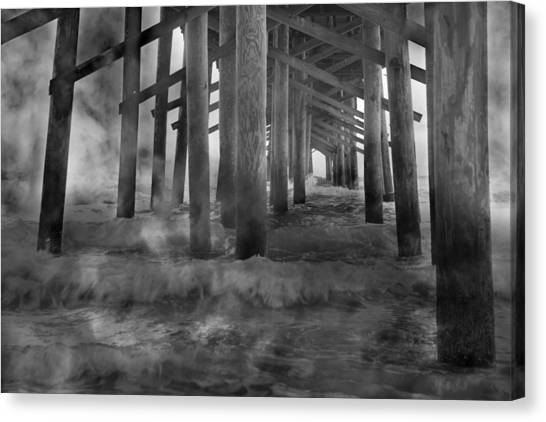 Tumbling Canvas Print - Dissipation  by Betsy Knapp