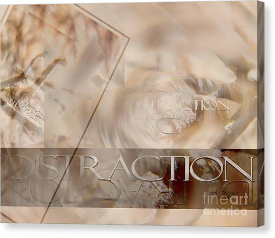 Canvas Print featuring the photograph Distraction by Vicki Ferrari
