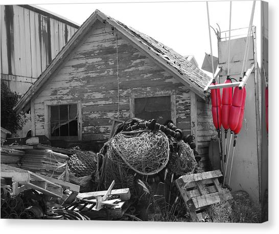 Distressed Fishery Canvas Print