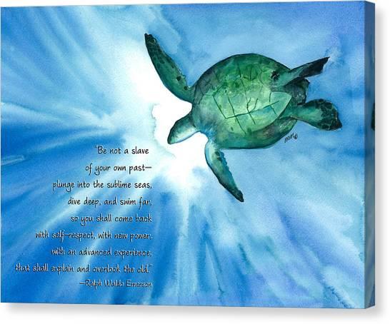 Dive Deep Canvas Print