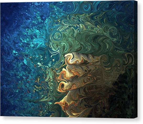 Dive Of Fireman's Canvas Print