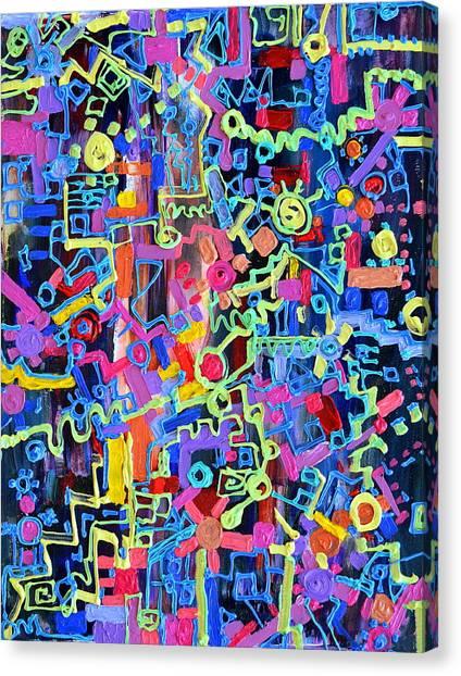 Divertissment Canvas Print
