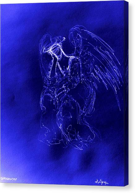 Divine Angel Canvas Print