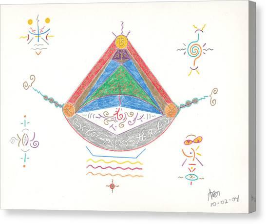 Divine Balance Canvas Print