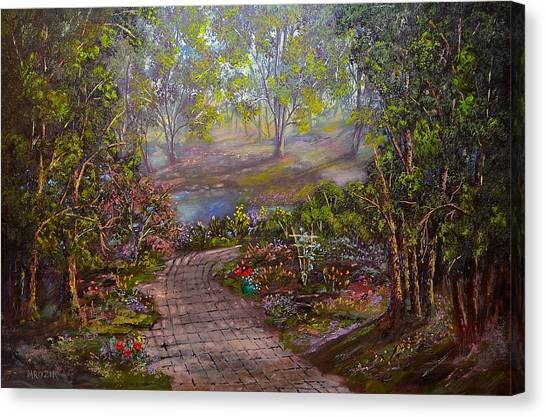Divine Sunshine Canvas Print