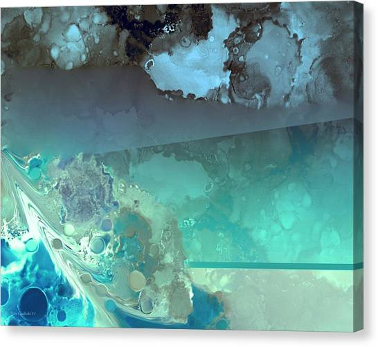 Diving Deep Canvas Print