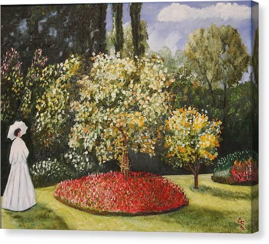 Dixie's Garden Canvas Print