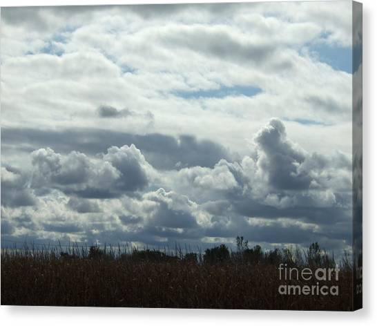 Do You See What I See In The Clouds. Canvas Print