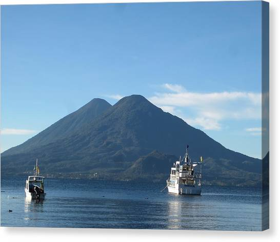 Volcanoes Canvas Print - Double-take by Josias Tomas