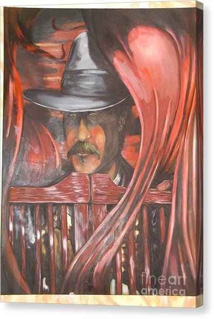 Doc The Immortal Canvas Print by Ricardo Reis