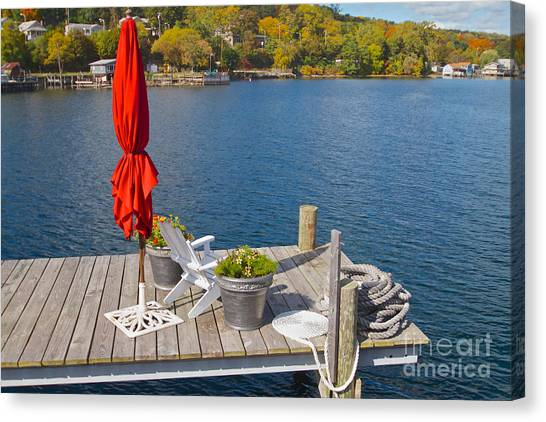 Dock By The Bay Canvas Print