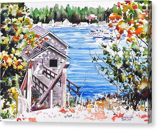 Harborview Drive View Canvas Print