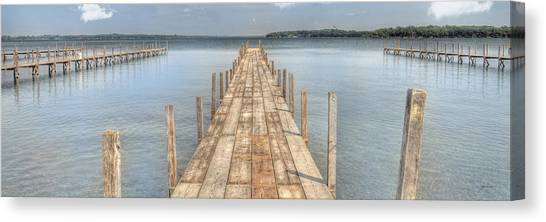Docks Canvas Print