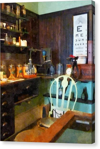 Doctor - Pediatrician's Office Canvas Print