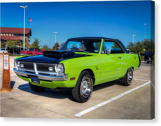 Dodge Dart Swinger Canvas Print