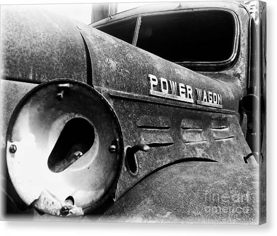 Dodge - Power Wagon 1 Canvas Print