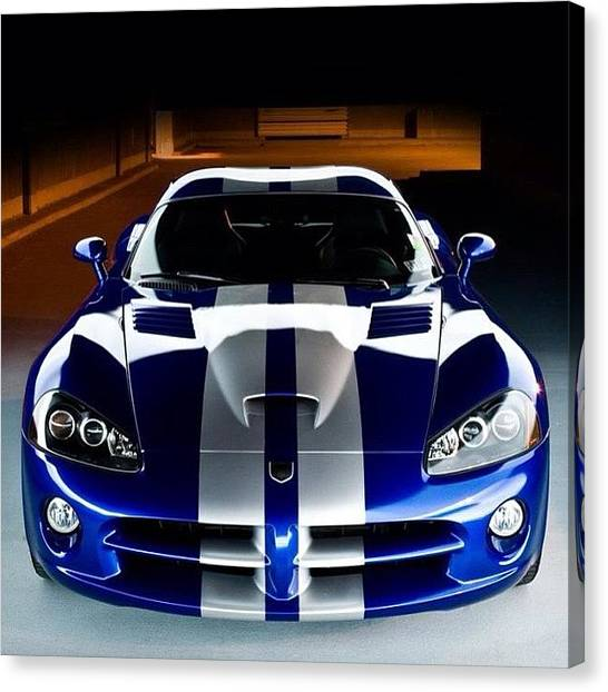 Vipers Canvas Print - #dodge #viper #ford #chevy #toyota by Keenan Zimmerman