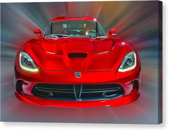Dodge Viper Srt  2013 Canvas Print