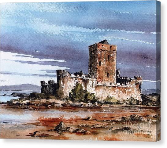 Donegal  Doe Castle Nr Creeslough  Canvas Print