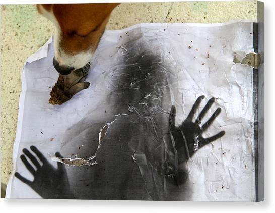 Dog Art Canvas Print