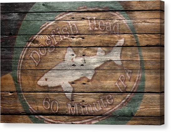Beer Can Canvas Print - Dogfish Head by Joe Hamilton