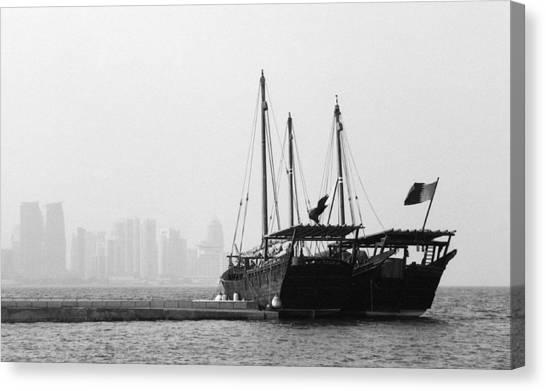 Doha Bay 2011 Canvas Print