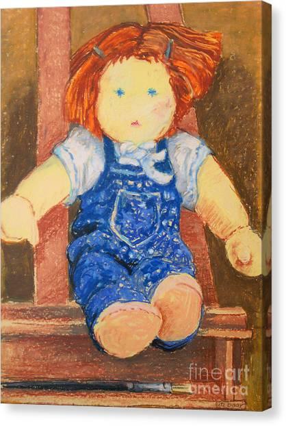 Doll Canvas Print by Lutz Baar