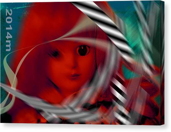 Dolls 31 Canvas Print