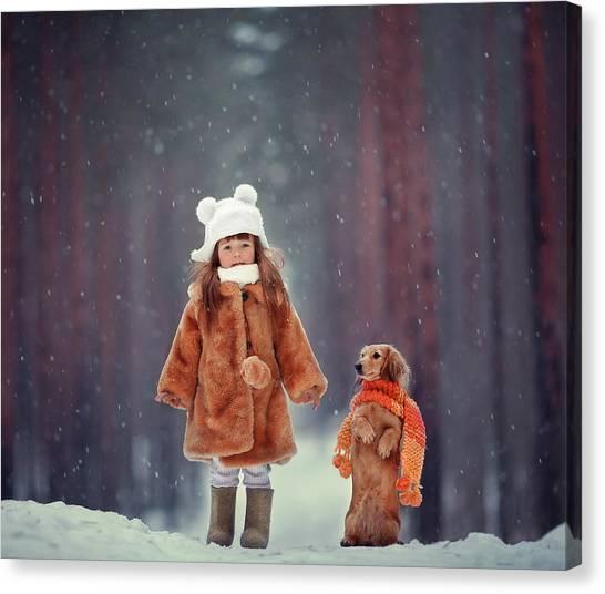 Dolls Canvas Print by Anna Melnikova