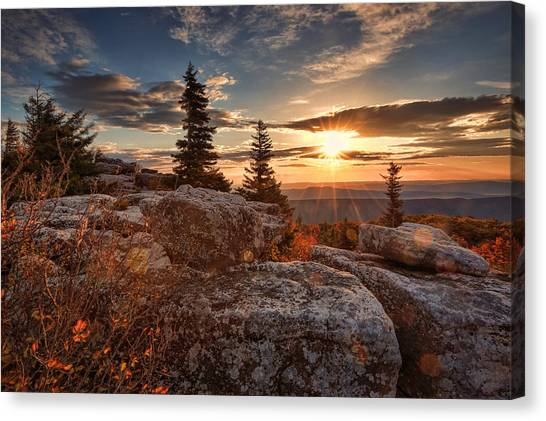 Dolly Sods Morning Canvas Print