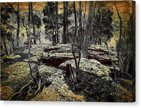 Dolomite Cliff Canvas Print