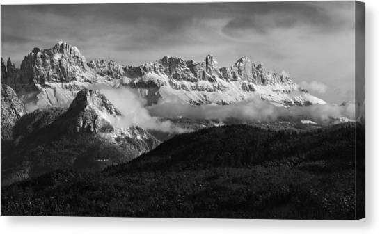 Dolomite Mountains - Italian Alps Canvas Print