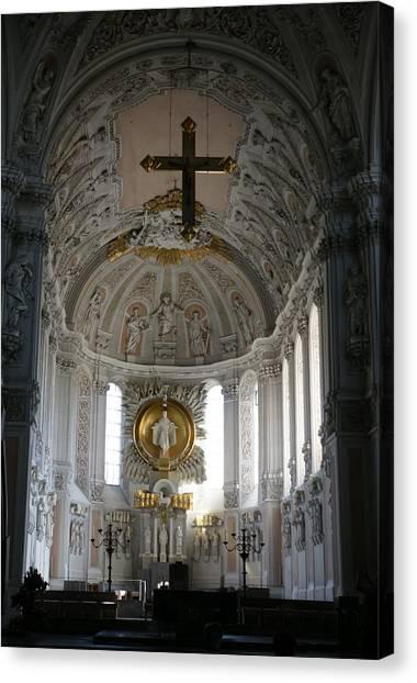 Dom Wurzburg Canvas Print